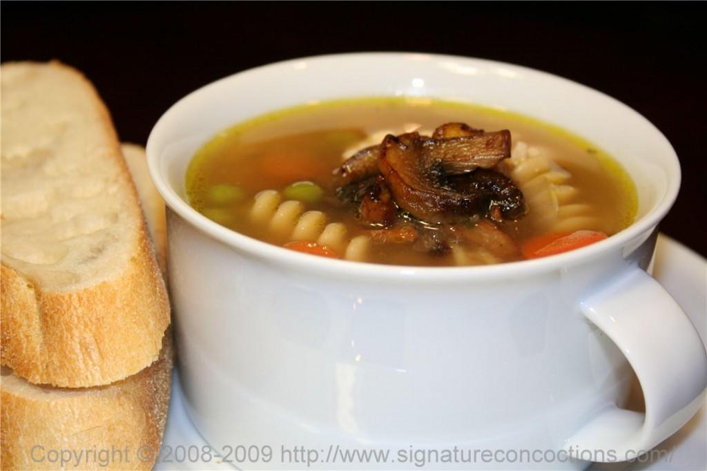 Chicken & Pasta Soup