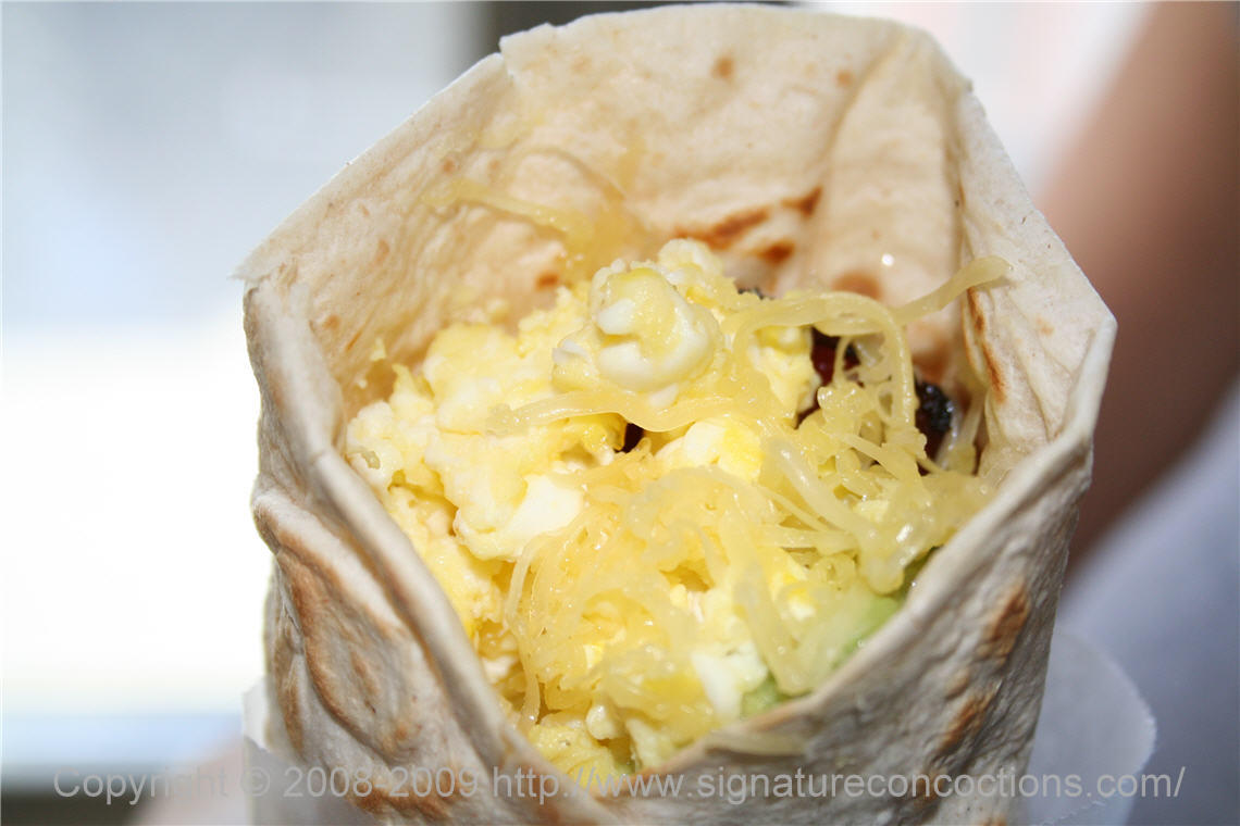 California Breakfast Wrap