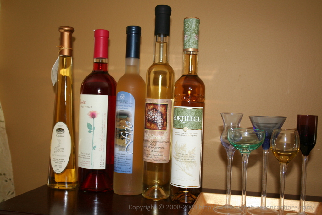 Wines and Liquer from SAQ