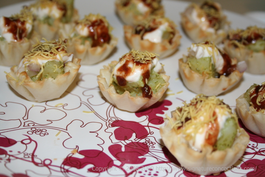 SPDP in Phyllo Cups