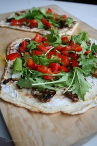 a cookbook - grilled pizzas and piadinas