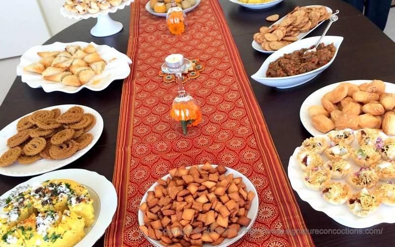 My Diwali spread