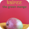 the green side of mango